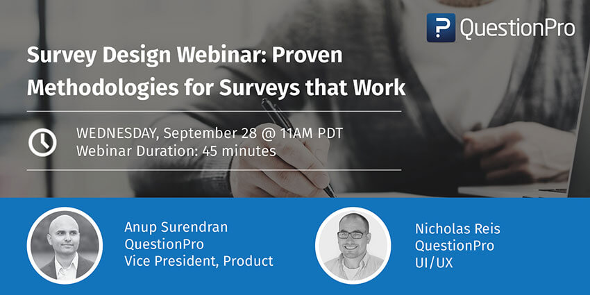 Survey Design Webinar