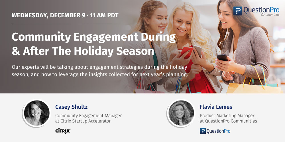 Engagement During & After The Holiday Season